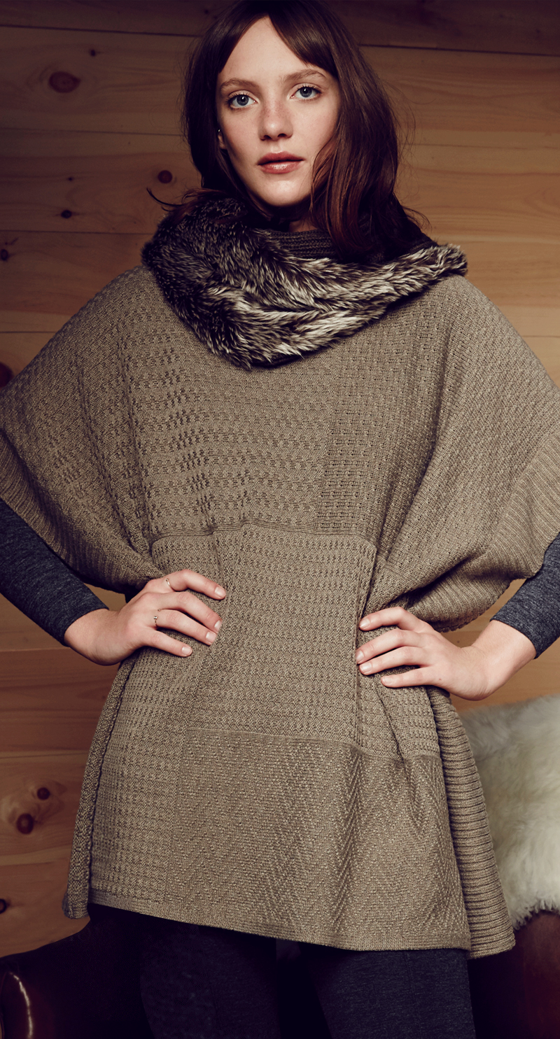 LOFT Knit Turtleneck Tunic