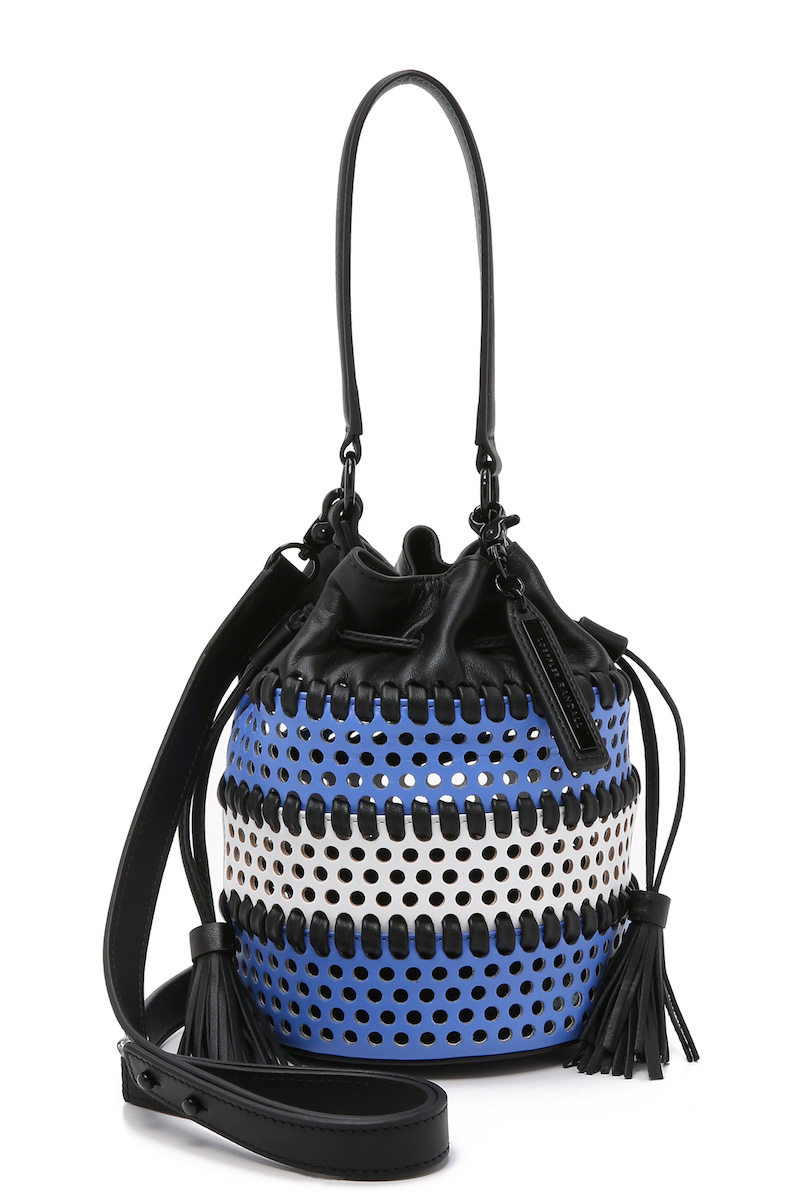 Loeffler Randall Mini Industry Bucket Bag