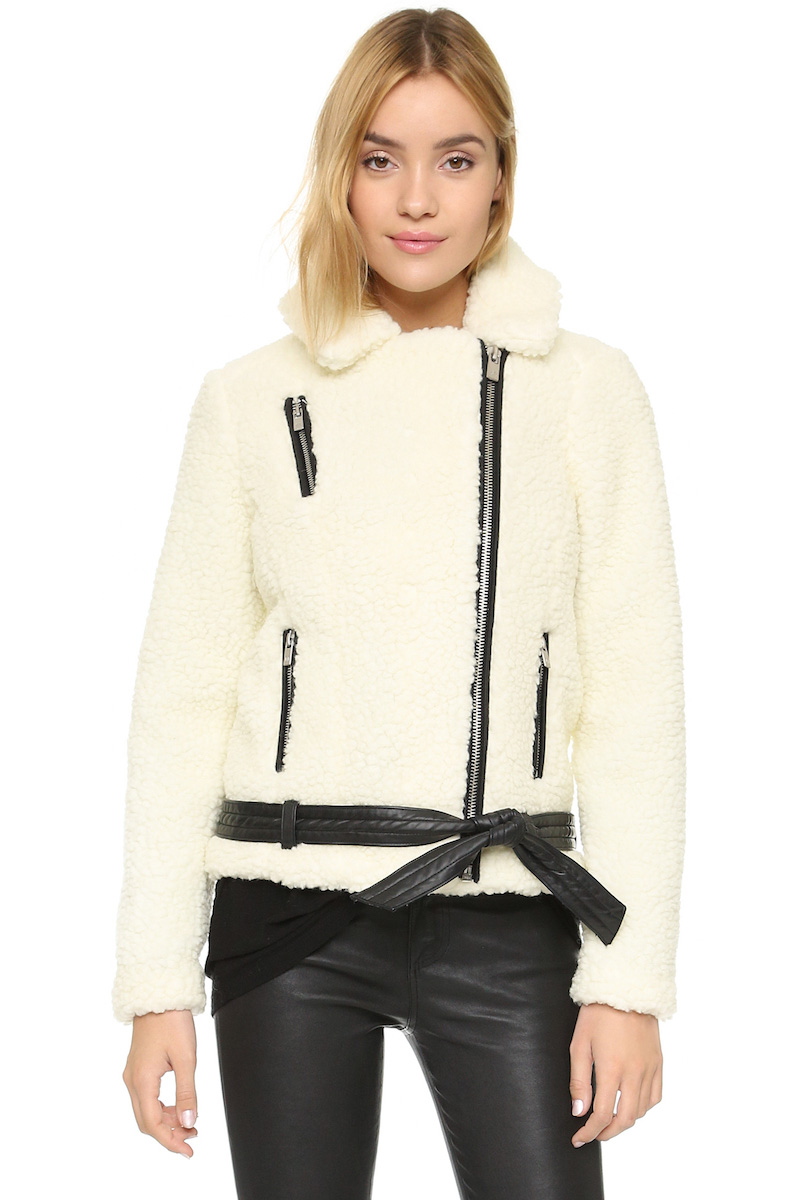 Maison Scotch Teddy Biker Jacket
