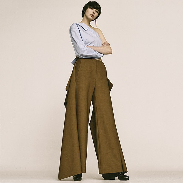 Marni Wide Leg Cool Wool Pants