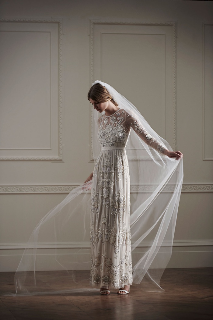 Needle Thread Bridal Wedding Dresses-8