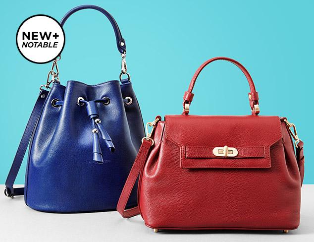 New & Notable Lancaster Paris Handbags at MYHABIT