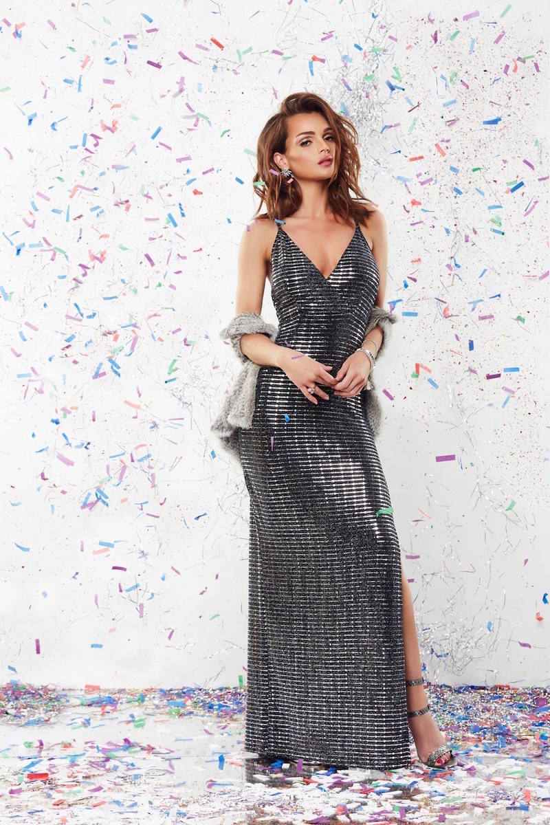 OH MY LOVE All Shook Up Maxi Dress