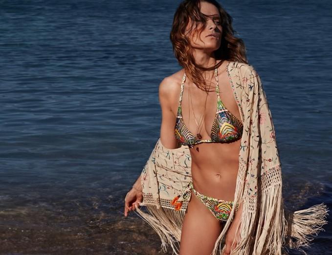 Paolita Virginia halter-neck bikini set