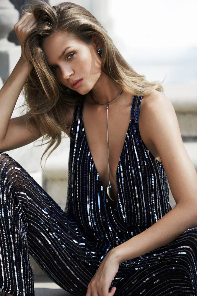 Parker Donny Sequin Jumpsuit