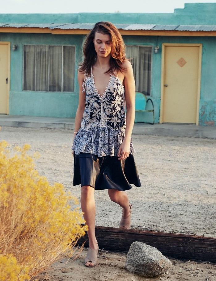 Rebecca Taylor Flounce Skirt