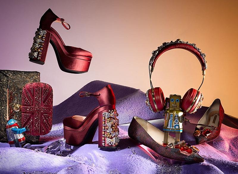 Rochas crystal embellished sandals