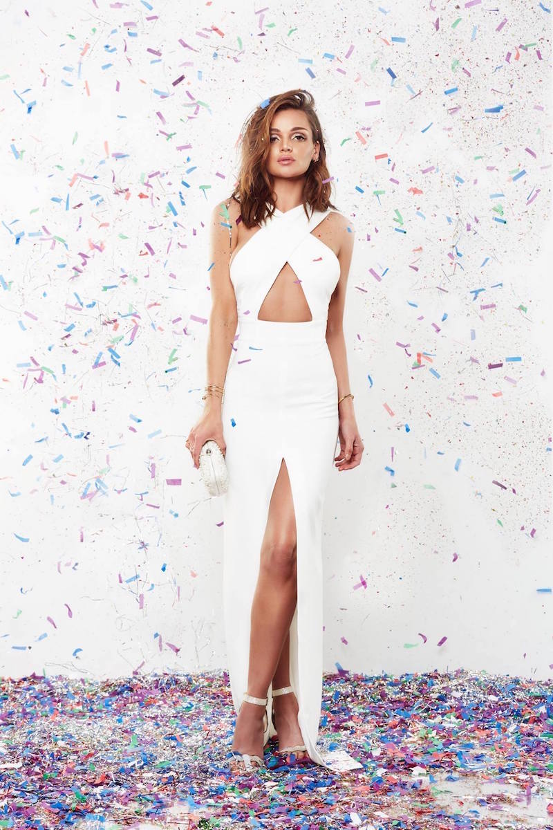 SOLACE London Brooke Maxi Dress