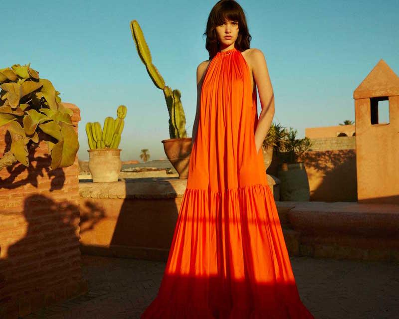 Stella McCartney Embellished Silk Dress