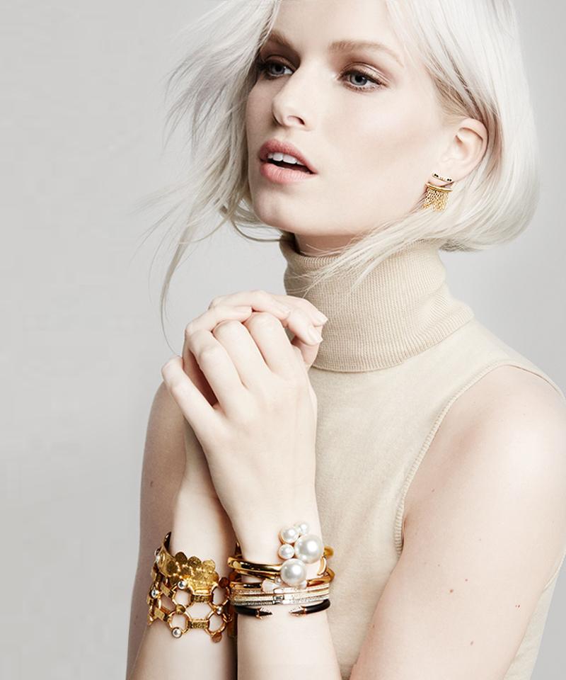 Stephanie Kantis Love Cuff Bracelet