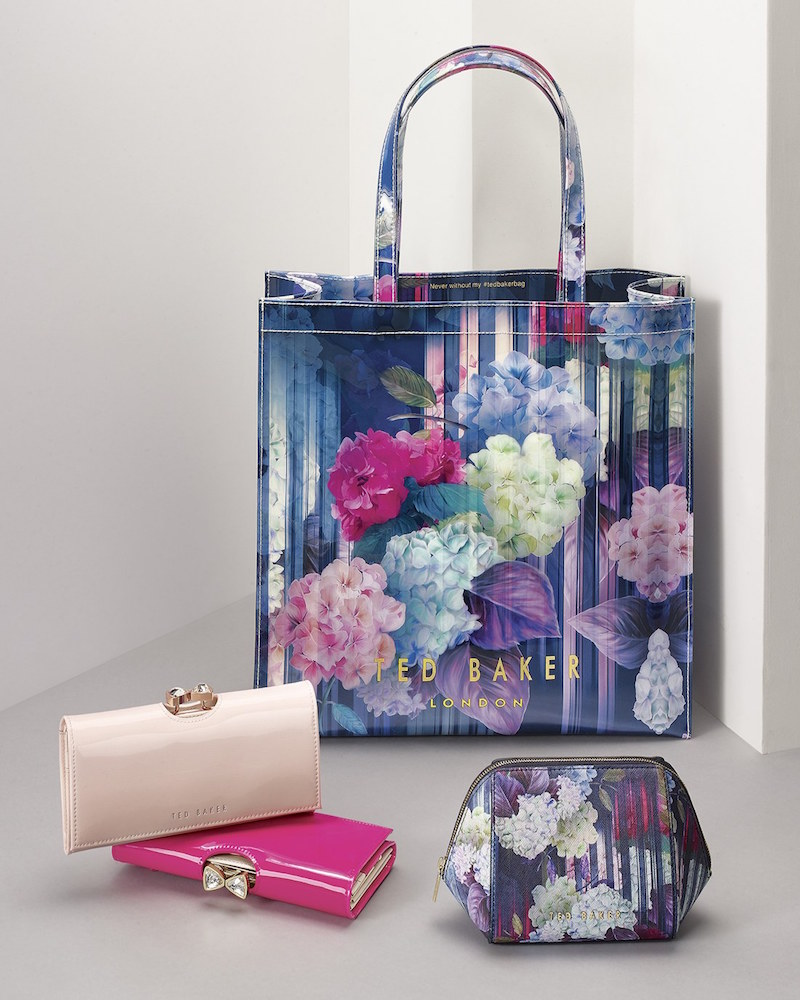 Ted Baker London Large Hydrangea Haze Icon Tote