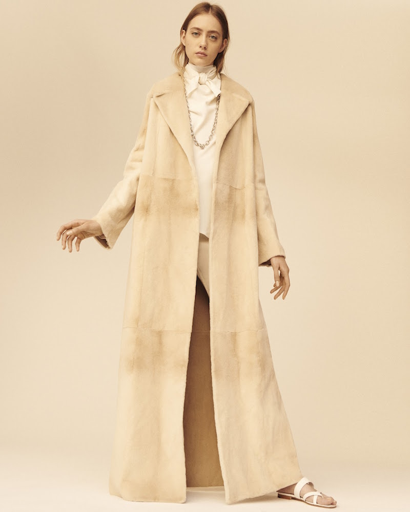 The Row Fur Terete Coat