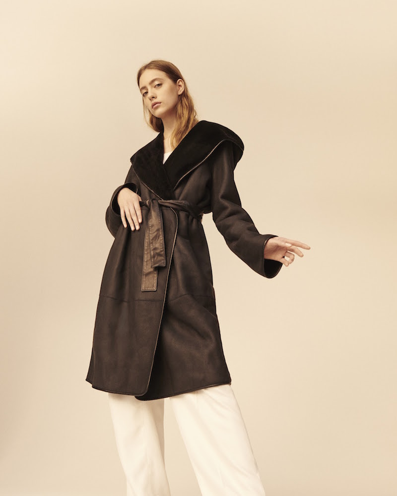 The Row Mosira Hooded Coat