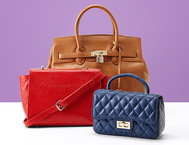 Under $110 Leather Bags feat. Zenith at MYHABIT