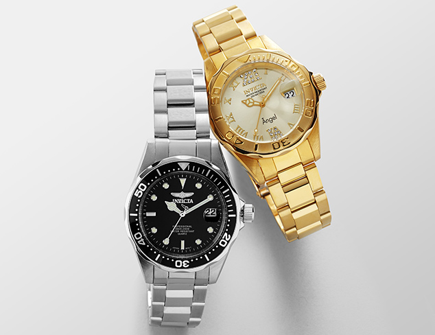 Up to 90% Off Invicta at MYHABIT