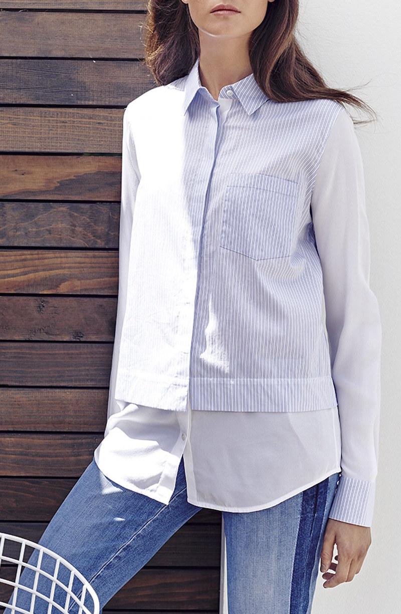 Vince Classic Stripe Shirt