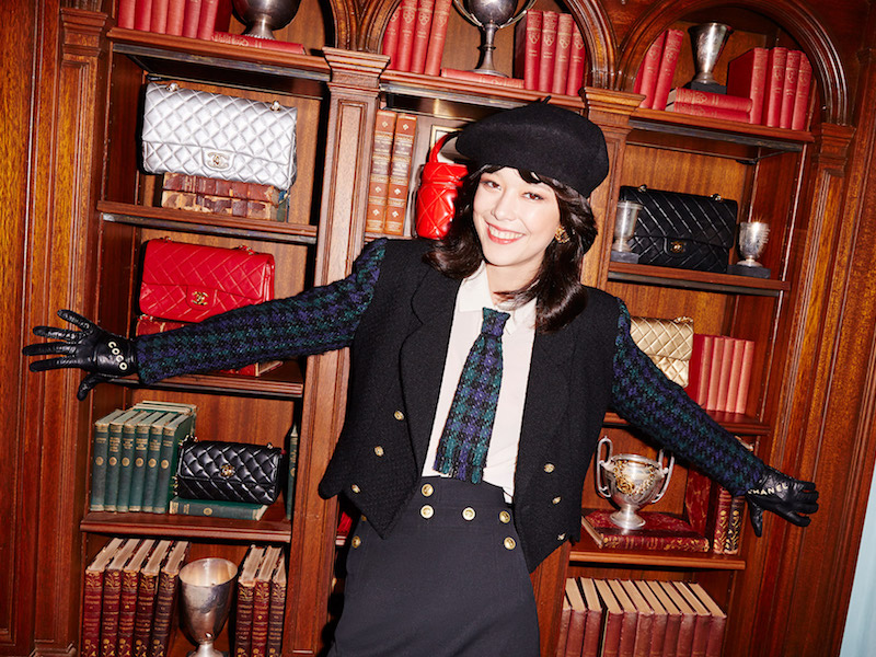 Vintage Chanel Denise Tweed Blazer