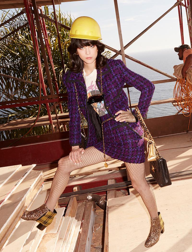 Vintage Chanel Leonois Bouclé Jacket
