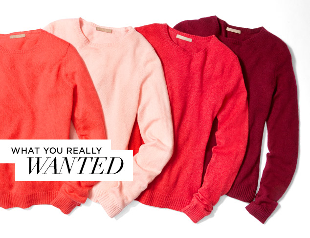 What You Really Wanted Cashmere at MYHABIT