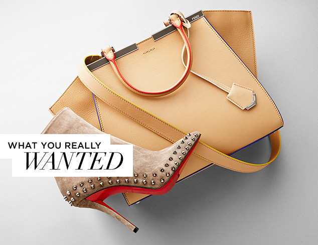 What You Really Wanted Designer Shoes, Bags & More at MYHABIT