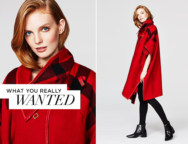 What You Really Wanted Luxe Outerwear at MYHABIT