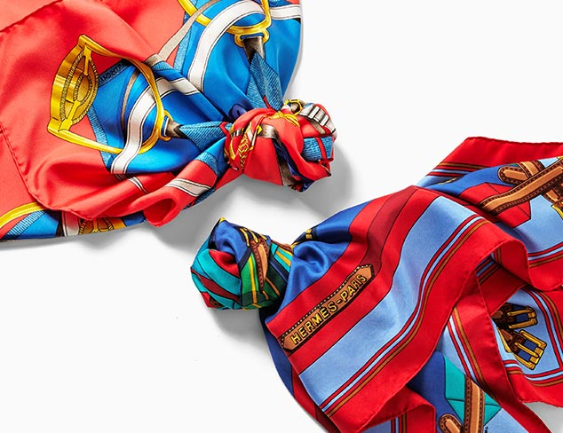 Wrapped in Prints Silk Scarves at MYHABIT