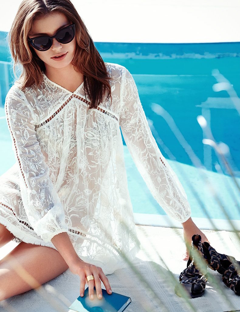 Zimmermann Henna Floating Fringe Top