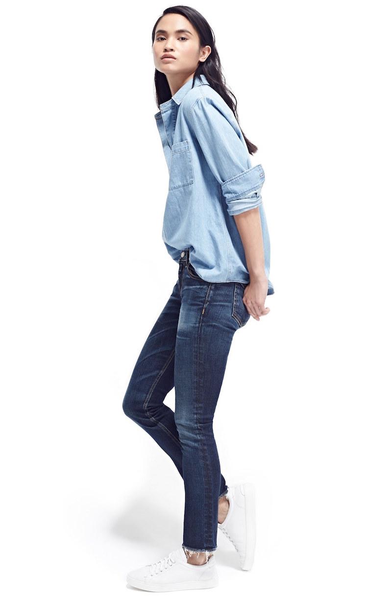 rag & bone JEAN Crop Skinny Jeans
