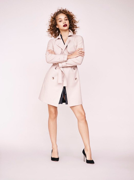 1. STATE Doubleweave Trench Coat