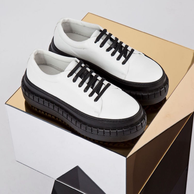 Acne Studios Saddy Platform Sneakers