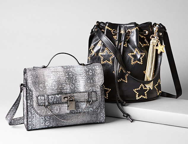Betsey Johnson & Steve Madden Handbags at MYHABIT