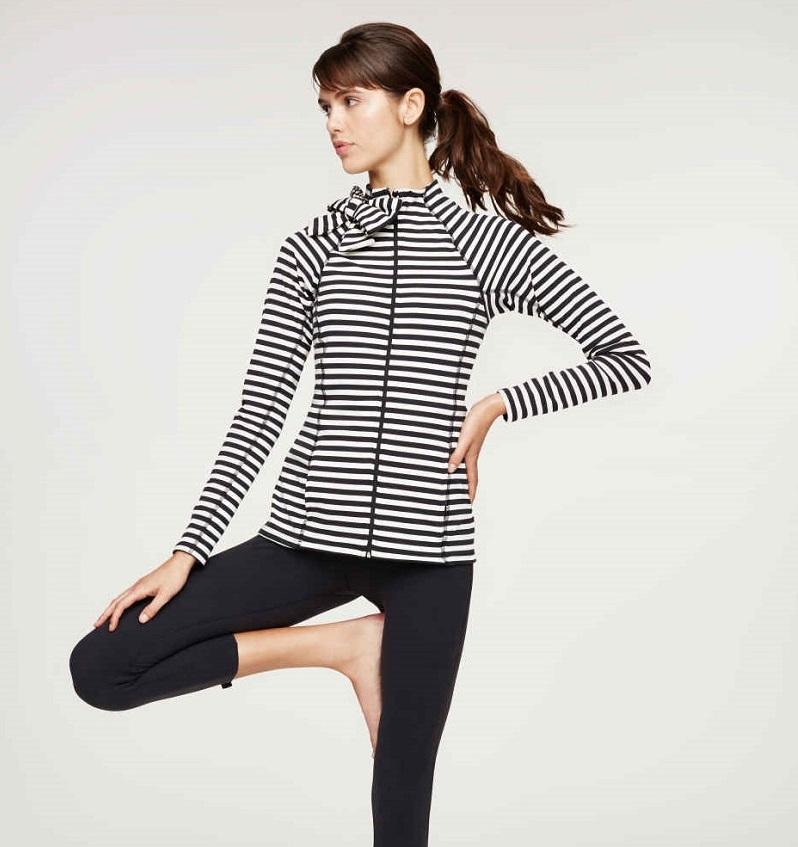 Beyond Yoga Neck Bow Jacket