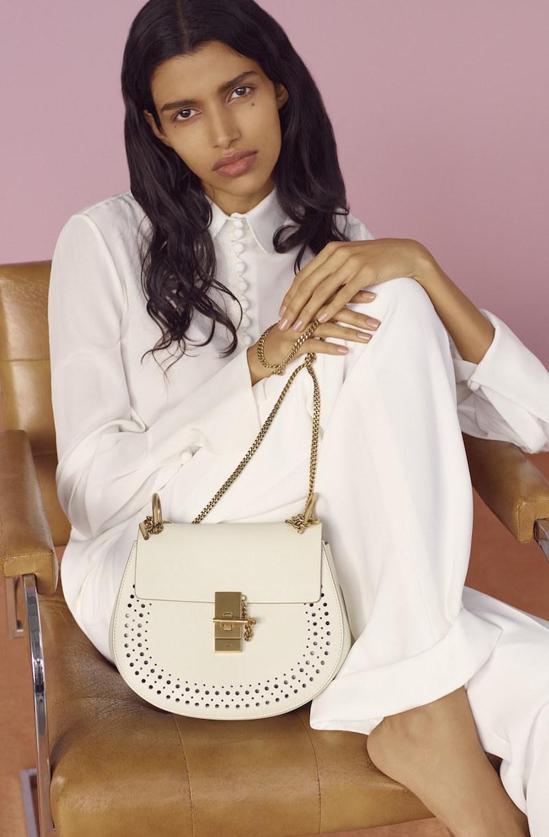 Chloé 'Mini Drew' Crossbody Bag