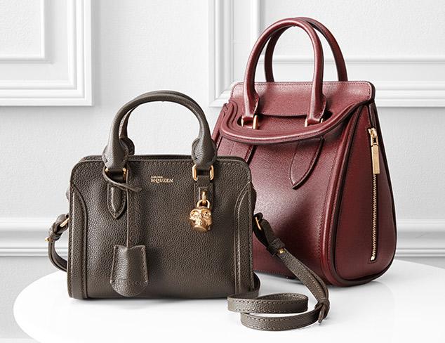 Designer Handbags feat. Alexander McQueen at MYHABIT