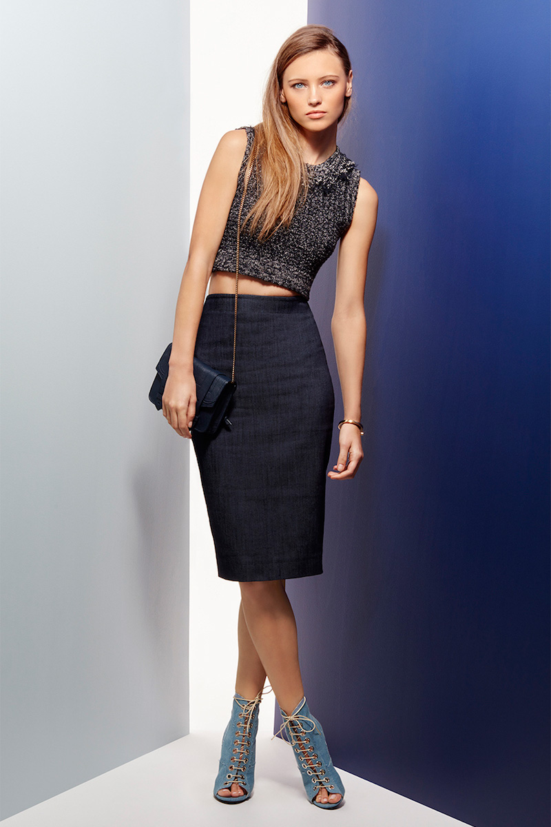 Elizabeth and James Aisling Pencil Skirt