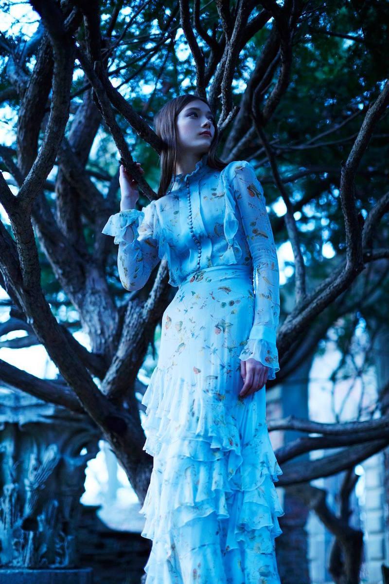 Erdem Chiffon Ibbie Gown