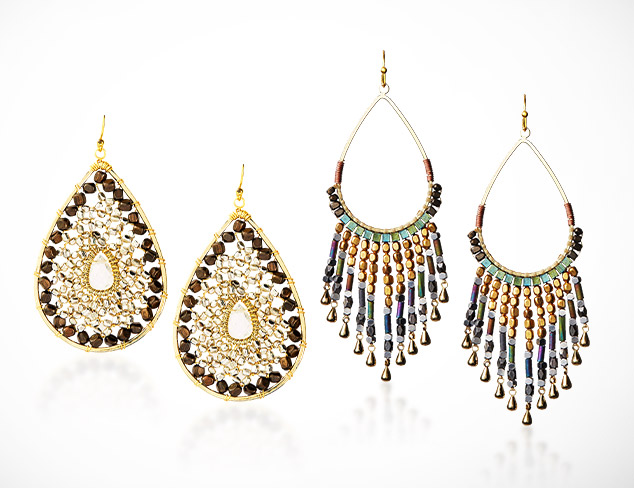 Eye-Catching Earrings at MYHABIT