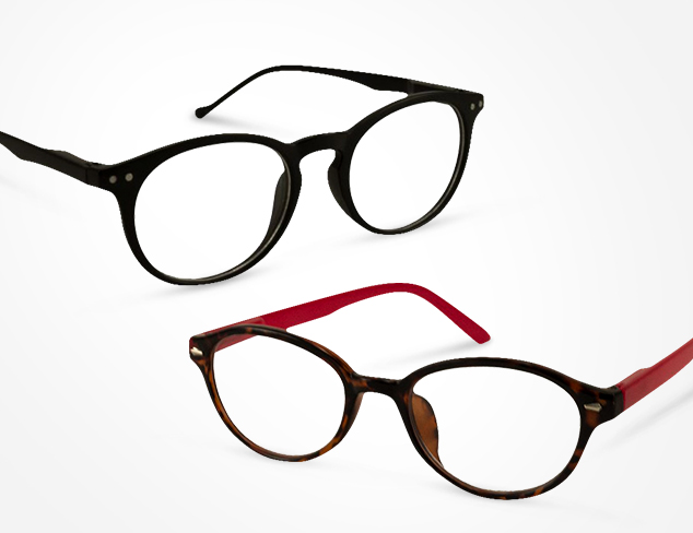 Eyewear Update Magnified Readers at MYHABIT