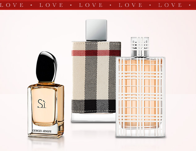 Fragrances She'll Love feat. Burberry at MYHABIT