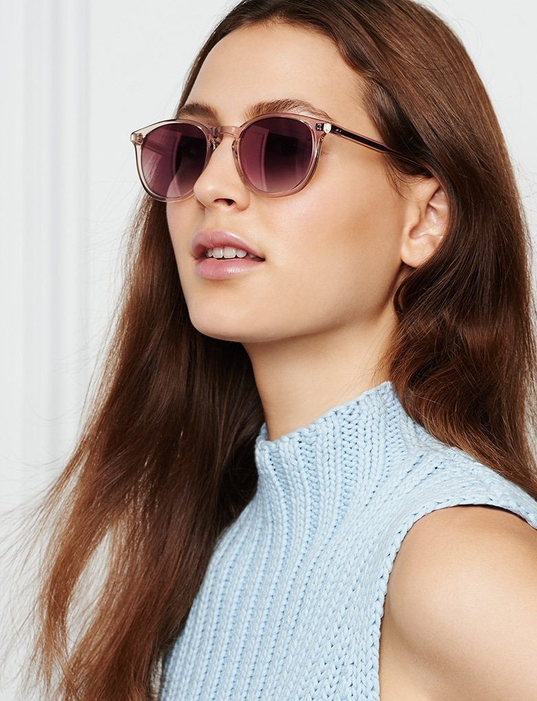 GARRETT LEIGHT Milwood Mirror Sunglasses