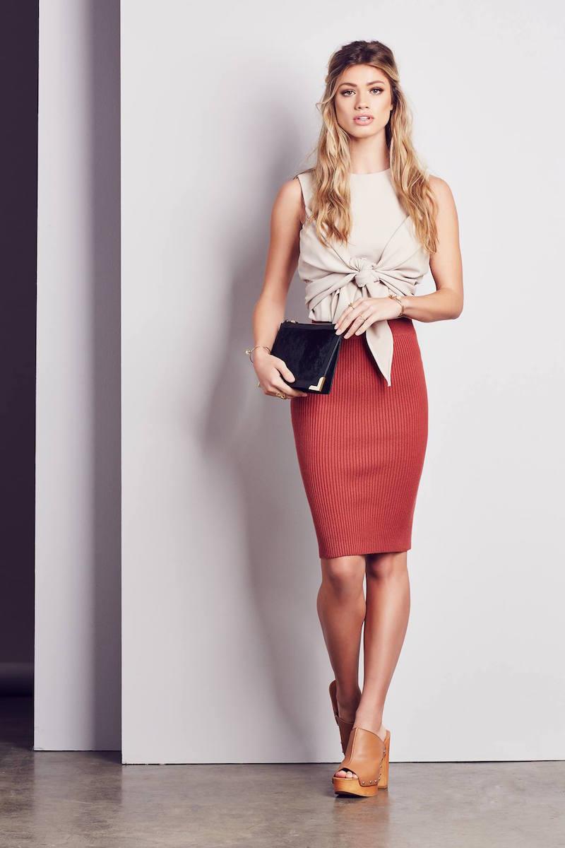 GLAMOROUS Pencil Skirt