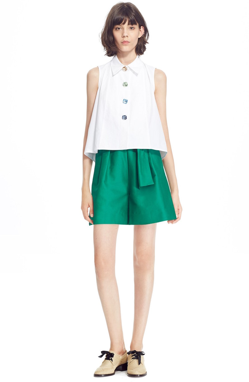 Isa Arfen Sleeveless A-Line Shirt