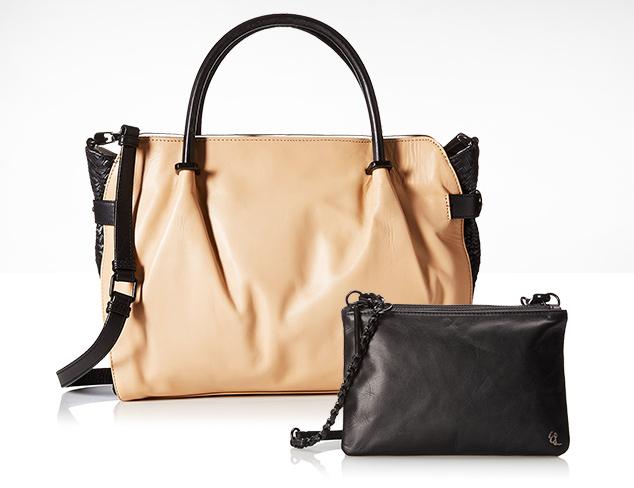 Isaac Mizrahi & Elliott Lucca Handbags at MYHABIT