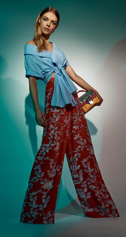Johanna Ortiz Silk Printed Te Borbon Pants