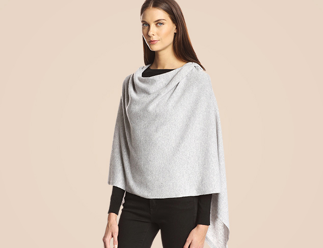 Layer Your Look Ponchos, Wraps & More at MYHABIT