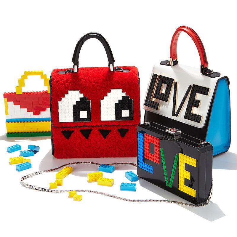Les Petits Joueurs Andy Rainbow Love Clutch Bag