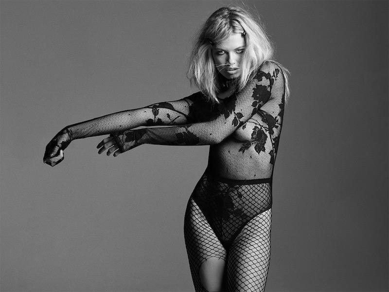 Love, Courtney by Nasty Gal Celebrity Skin Lace Bodysuit