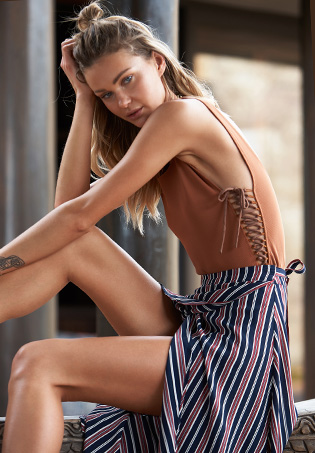 Lovers + Friends x REVOLVE Skin Deep Bodysuit