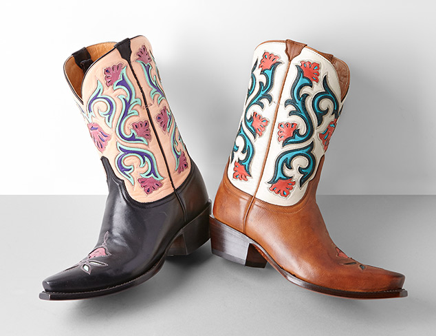 Lucchese & Dan Post at MYHABIT