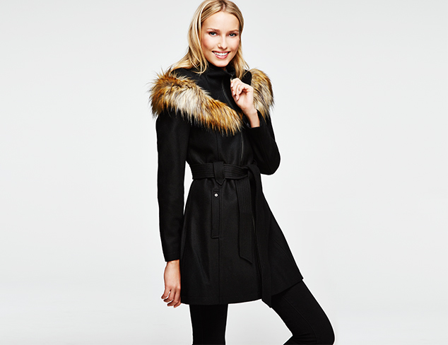 Modern Luxe Outerwear feat. Via Spiga at MYHABIT
